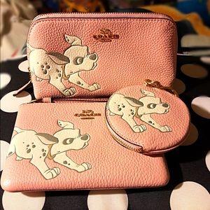 Coach Bags - Coach Disney X Dalmatian Trio of Cases. New!